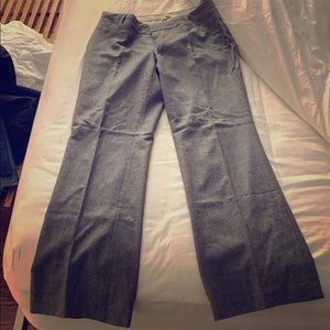 Banana Republic Jackson Fit - wide-leg wool pant